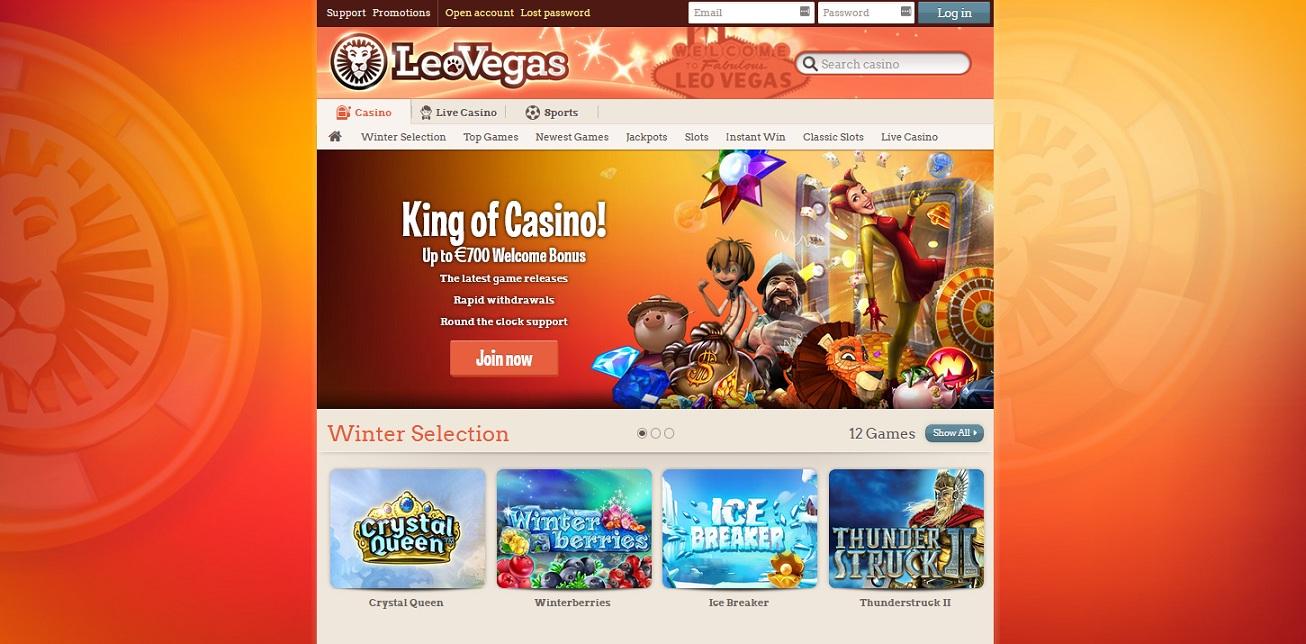 leo vegas casino free spins